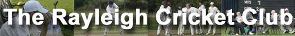 The website of the Rayleigh Cricket Club in Essex